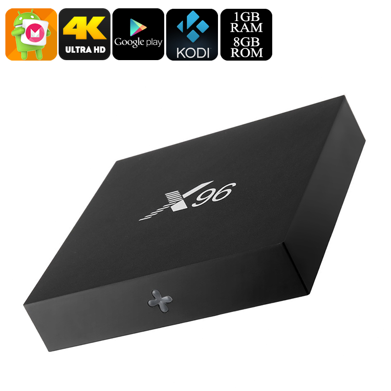 Wholesale X96 Android TV Box (Quad Core CPU, 4K Movie, Kodi, HDMI, 8GB)