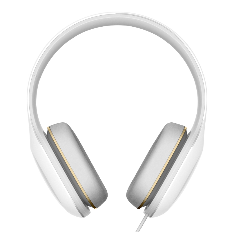 Wholesale Xiaomi Mi Headphone with On-Cord Mic (Comfortable, 50mm Diaphragm, Compact and Portable, White)
