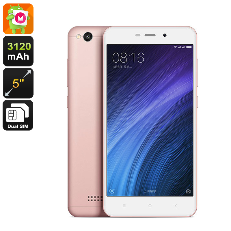Wholesale Xiaomi Redmi 4a 5 Inch 4G Android Smartphone (Dual-Band Wi-Fi, 2GB RAM, 16GB, Rose Gold)