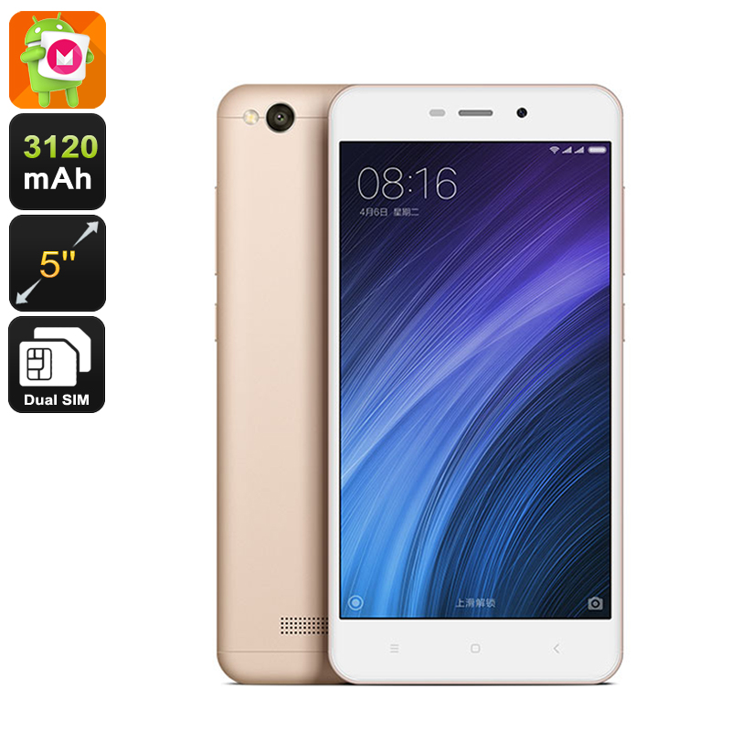 Wholesale Xiaomi Redmi 4a 5 Inch 4G Android Smartphone (Dual-Band Wi-Fi, 2GB RAM, 16GB, Champagne)