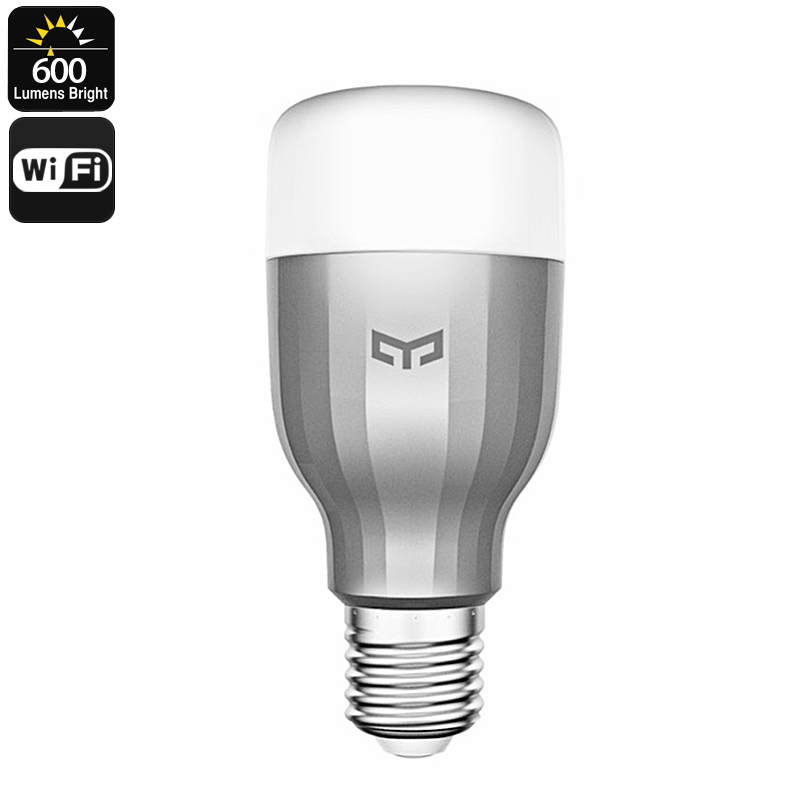 Wholesale Xiaomi Yeelight RGBW E27 Smart LED Bulb (Wi-Fi Control, 600 Lume