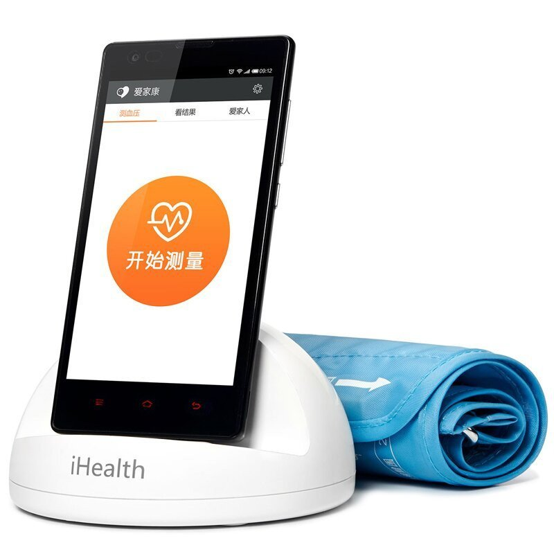 Wholesale Xiaomi iHealth Smart Blood Pressure Dock - Bluetooth 4.0, WHO Classification, App Support, Records 3 Types Of Blood Pressure