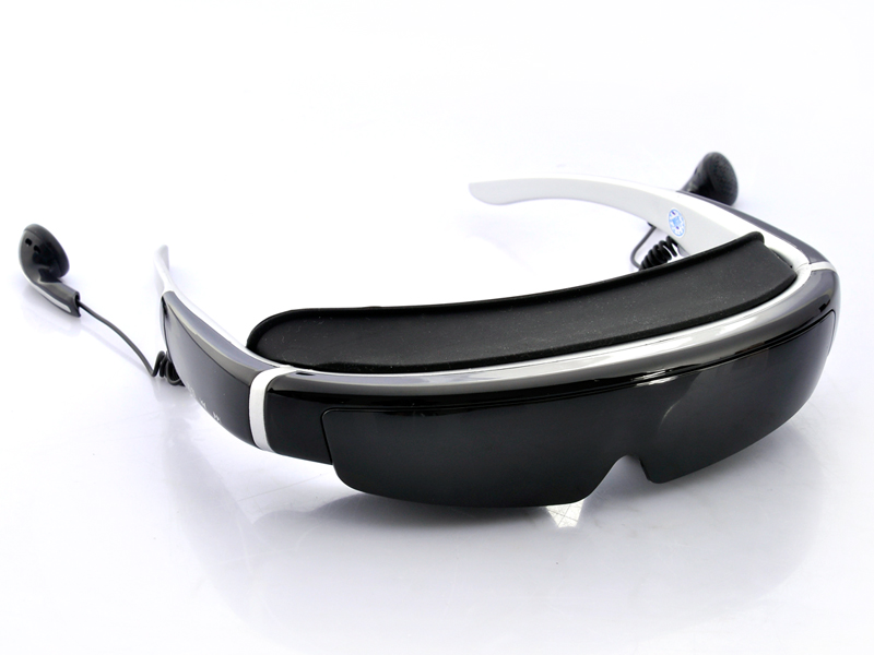 Wholesale 3D Video Glasses with 98 Inch Virtual Screen - 854x480