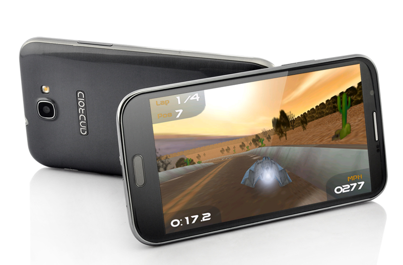 Opata - 5.7 Inch Quad Core Android 4.2 Phone - Grey (1.2GHz CPU, 1GB RAM, 8GB ROM, 1280x720)