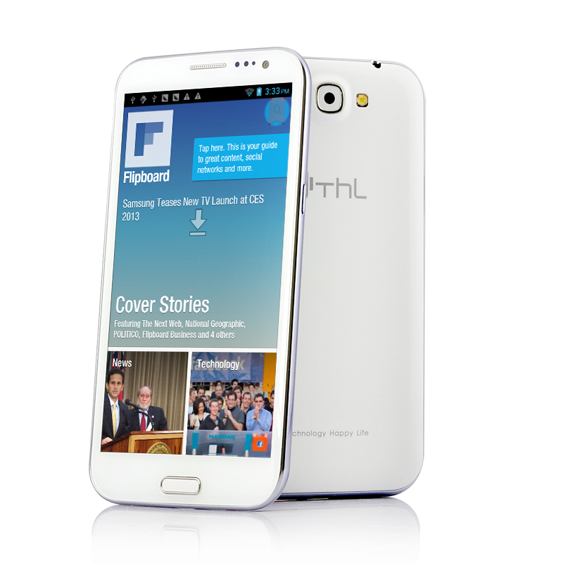 Wholesale ThL W7 - HD Android 4.0 Phone with 3.2MP Front Camera (5.7 Inch IPS Screen, 320 DPI, 1GHz Dual Core)