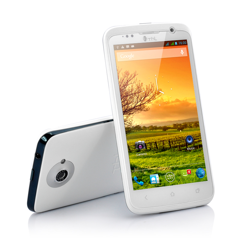 Wholesale ThL W5 - HD Android 4.1 Phone - White (4.7 Inch IPS Screen, 320 PPI, 1GHz Dual Core)
