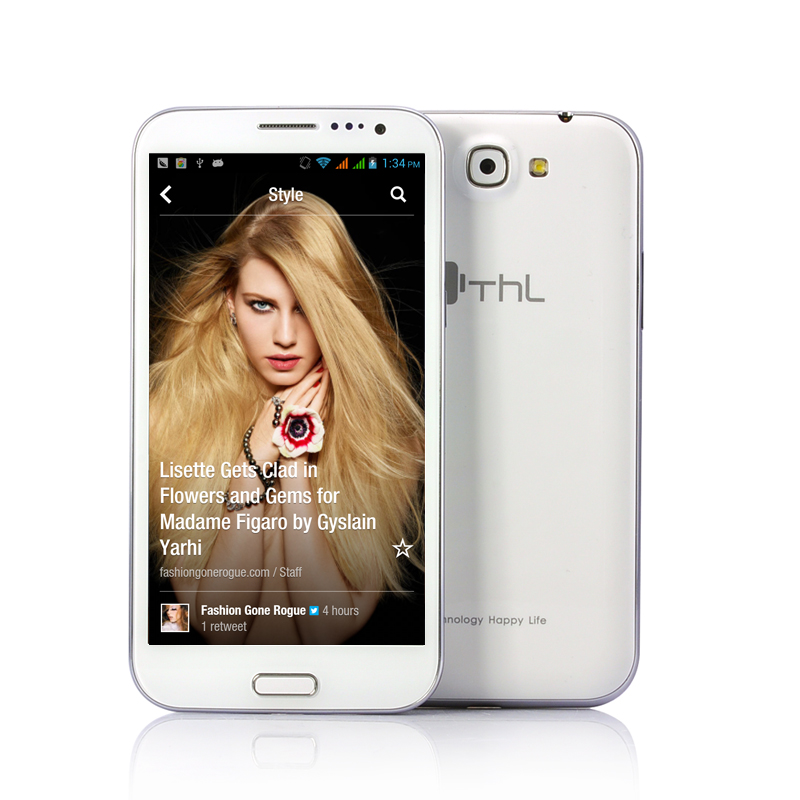 Wholesale ThL W7+ - Quad Core Android 4.2 Phone (5.7 Inch IPS HD Screen, 1.2GHz CPU, 3.2MP Front Camera)