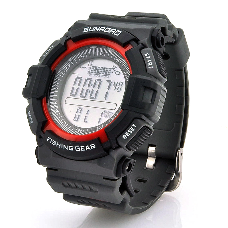 Wholesale Digital Fishing Barometer Watch with Altimeter & Thermometer