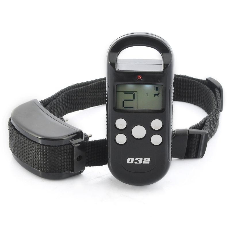 Wholesale Dog Training Collar with LCD Screen (Vibration + Shock, 300m Range)