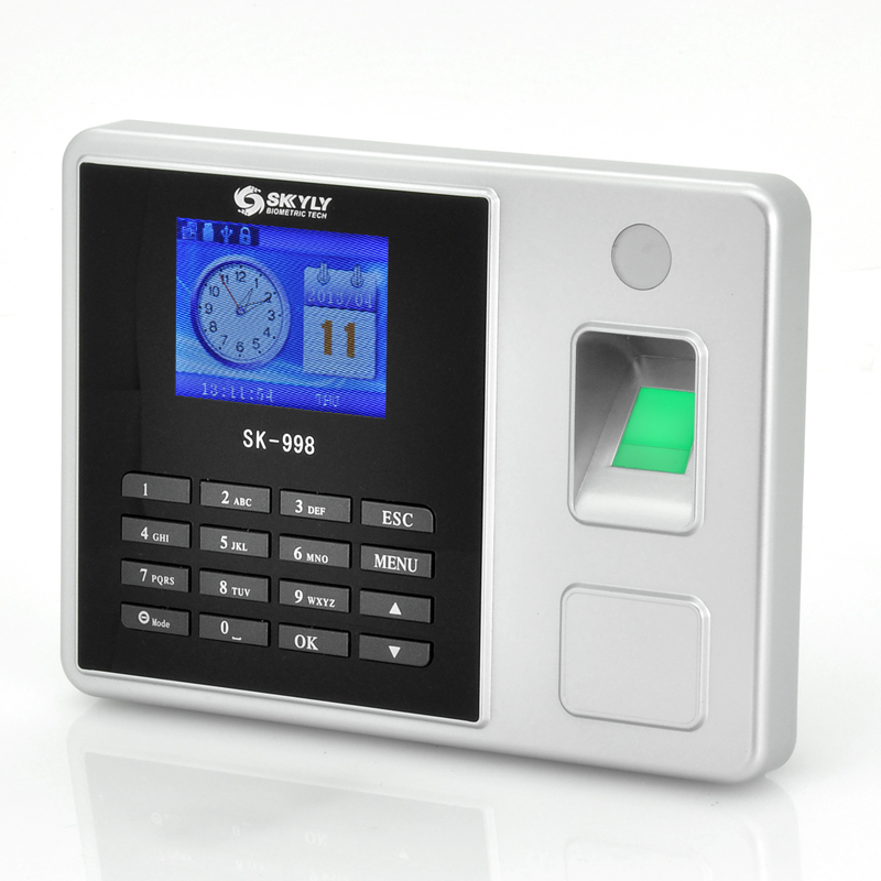 Biometric Fingerprint Time Attendance System With 2 8 Inch