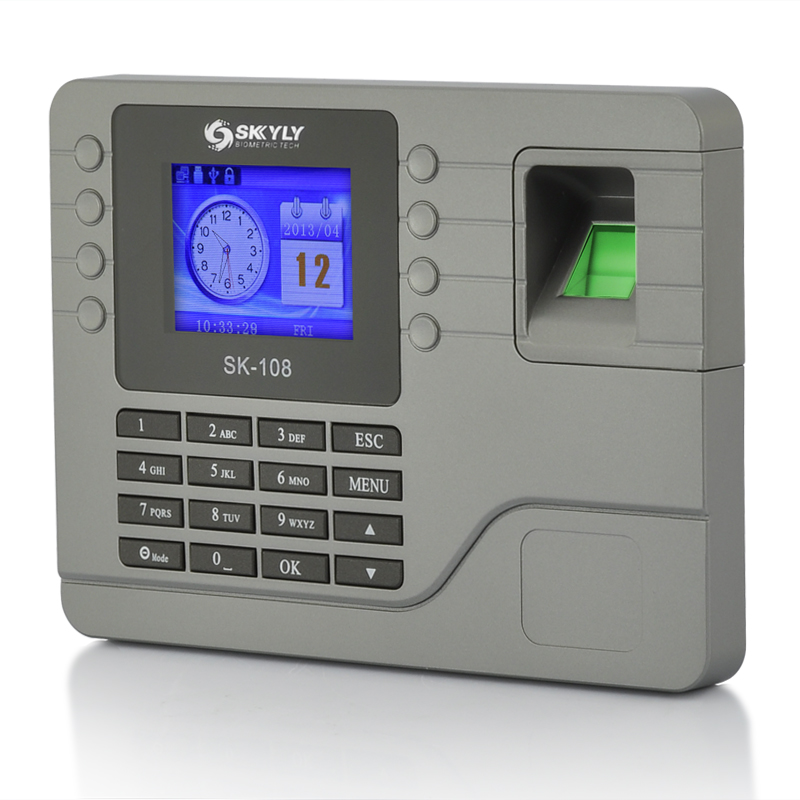 Wholesale Biometric Fingerprint Time Attendance System with 2.8 Inch Screen, LAN Port, Record Query