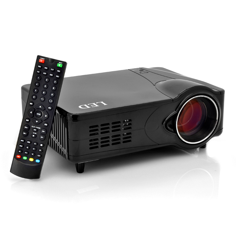 Wholesale Multimedia LED Projector (2200 Lumens, 1000:1, 800x600)