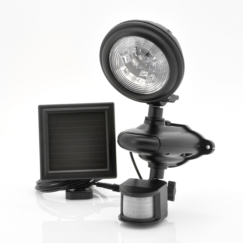 Wholesale Weatherproof Solar LED Security Light (100 Lumens, PIR Motion Detection)