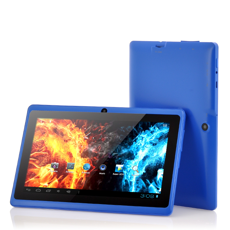 Wholesale Helos - Budget 7 Inch Android 4.2 Tablet PC (1GHz CPU, 512MB RAM, 4GB, Blue)