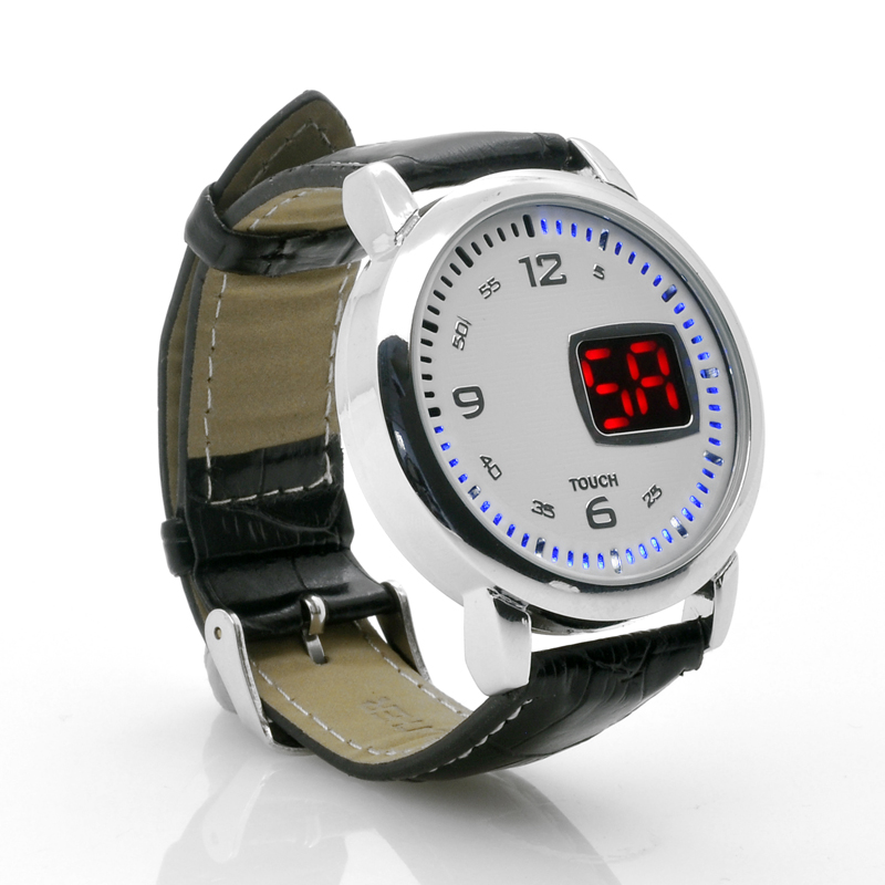 images/china-electronics/LED-Touch-Watch-Chess-Leather-Strap-LED-Time-Display-White-plusbuyer.jpg