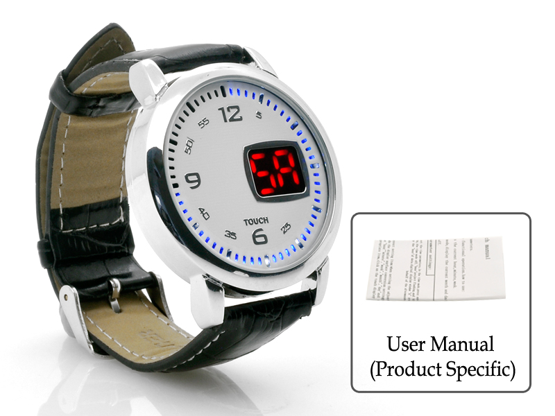images/china-electronics/LED-Touch-Watch-Chess-Leather-Strap-LED-Time-Display-White-plusbuyer_8.jpg