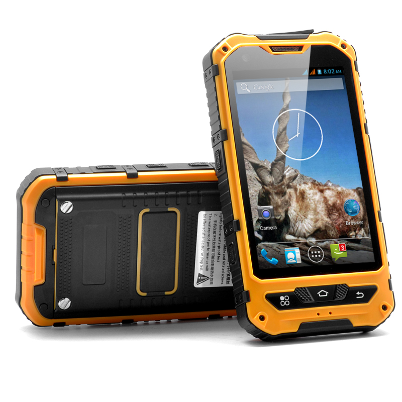 Wholesale Markhor - 4 Inch Rugged Android Phone (Yellow, 1.3GHz Dual Core,