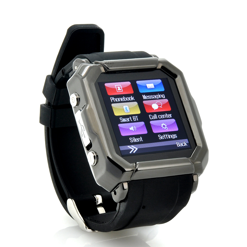 Wholesale iradish - Smart Phone Watch For Android (GSM Quad Band, SMS & Phonebook Sync, Caller ID, FM Radio)
