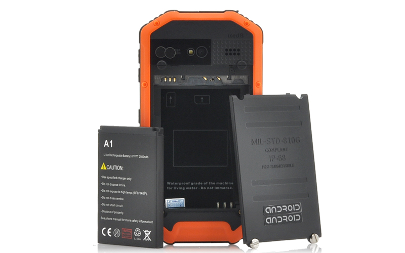 Range 3 5 Inch Rugged Android Smartphone Ip53 Water