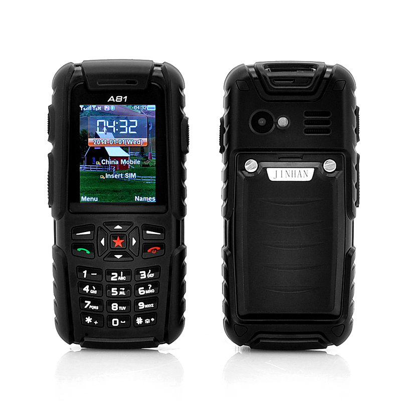 Wholesale Jinhan A81 2 Inch Rugged Cell Phone (Waterproof, Dust Proof, Sho