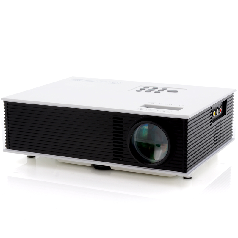 Wholesale MaxiView - LED Video Projector with 120 Inch Projection (1500 Lumens, 800x600, 700: 1, HDMI and AV IN, 2x USB Ports)