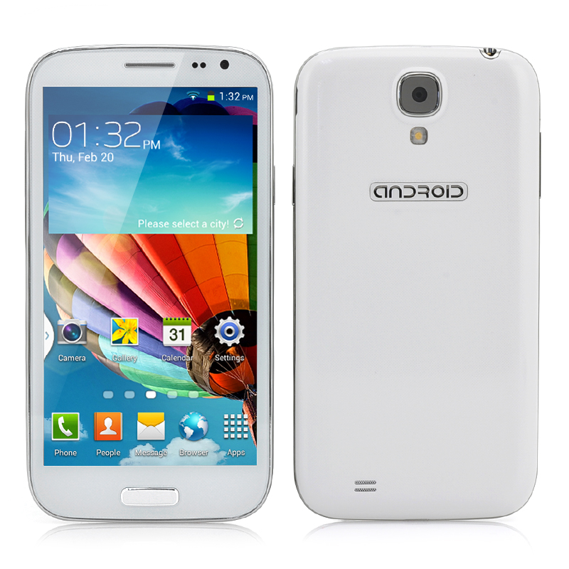 Wholesale Comrade - 5 Inch Octa Core Android Smartphone (3G, MT6592 1.7GHz CPU, 2GB RAM, White)