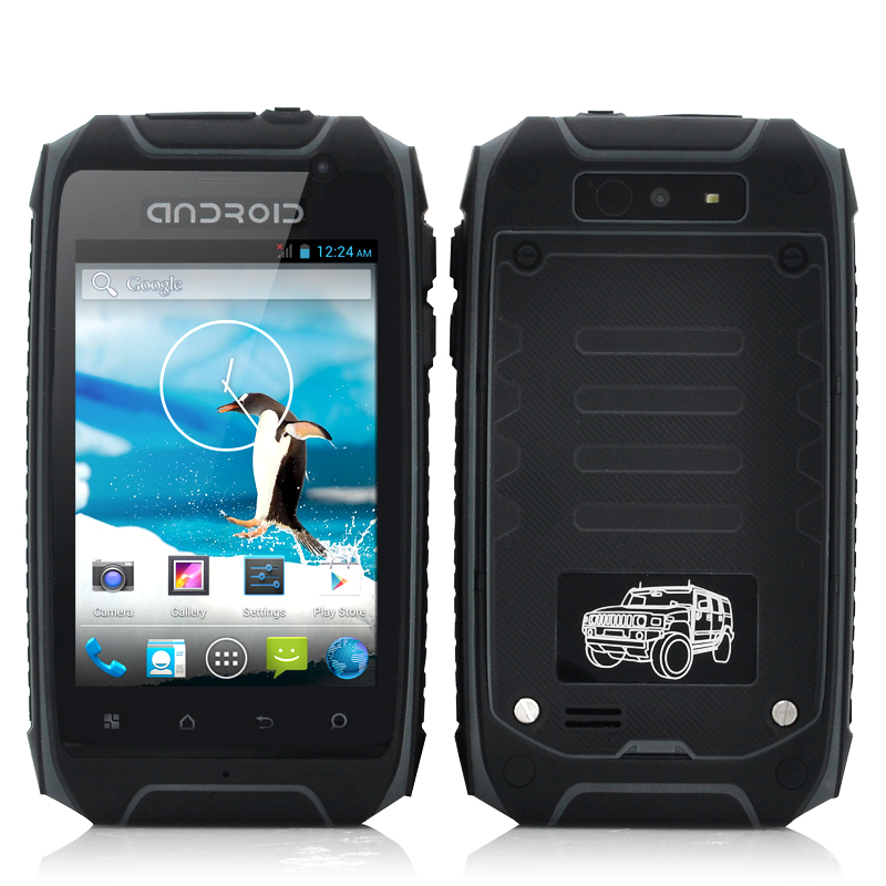 Wholesale Stardust - 3.5 Inch Rugged Android 4.2 Phone (1.3GHz Dual Core CPU, IP57 Waterproof, Dustproof, Shockproof, Grey)
