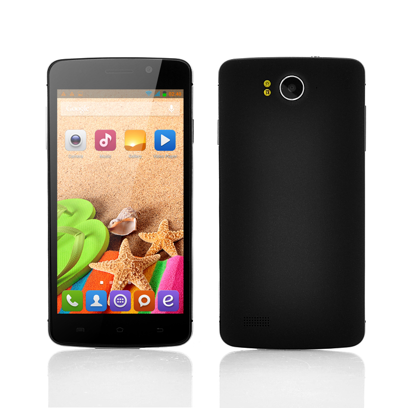 Wholesale Octocon - 5 Inch True Octa-Core Android Phone (1.7GHz MT6592 CPU, 16GB, Black)