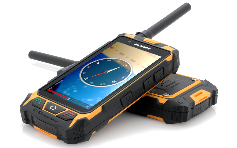 Zgpax S9 4 5 Inch Rugged Android Phone Walkie Talkie