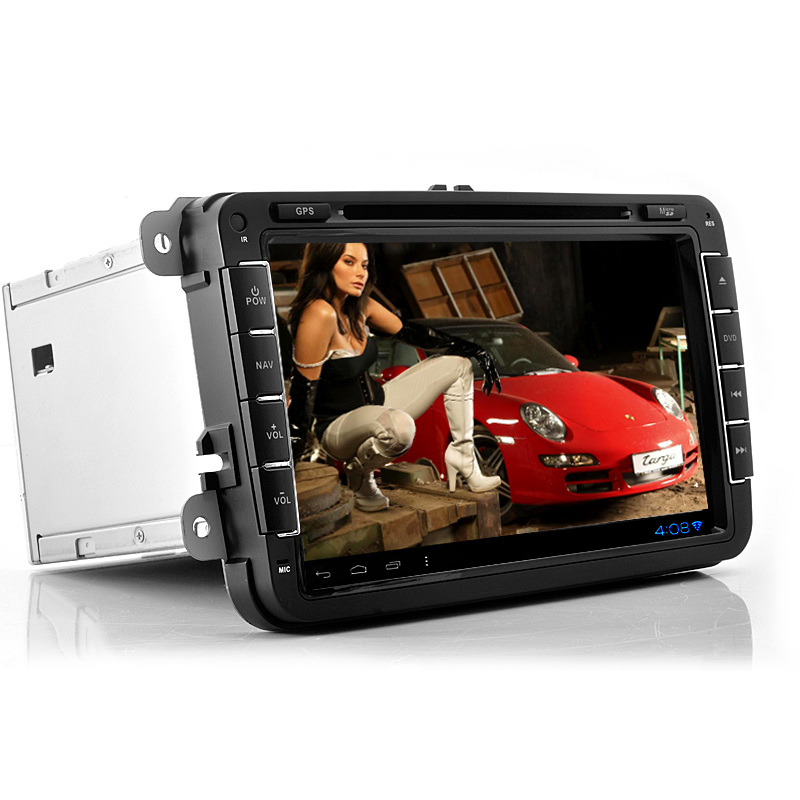 Wholesale Road Elite - 8 Inch 2 DIN Android 4.0 Car DVD Player For Volkswagen (3G, WiFi, GPS, 800x480)