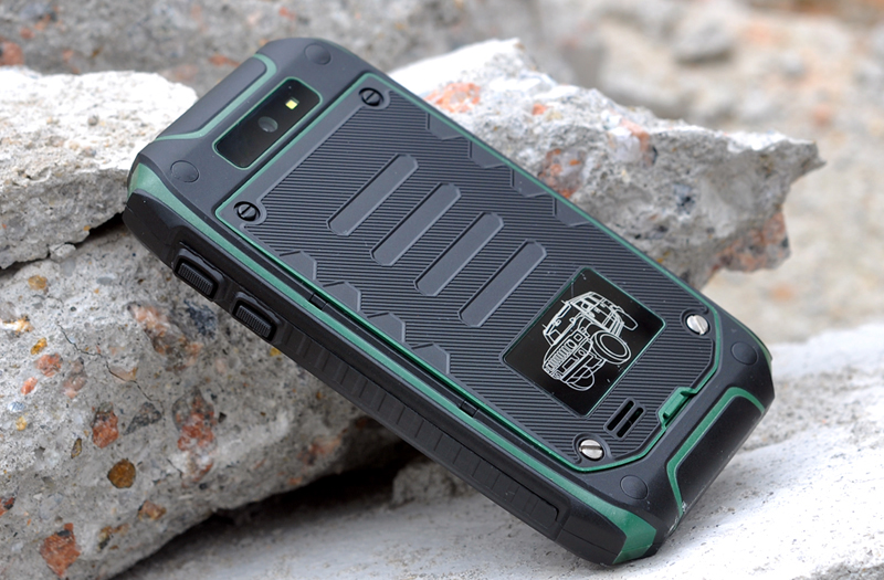 Meteoroid 3 5 Inch Rugged Android Phone Green