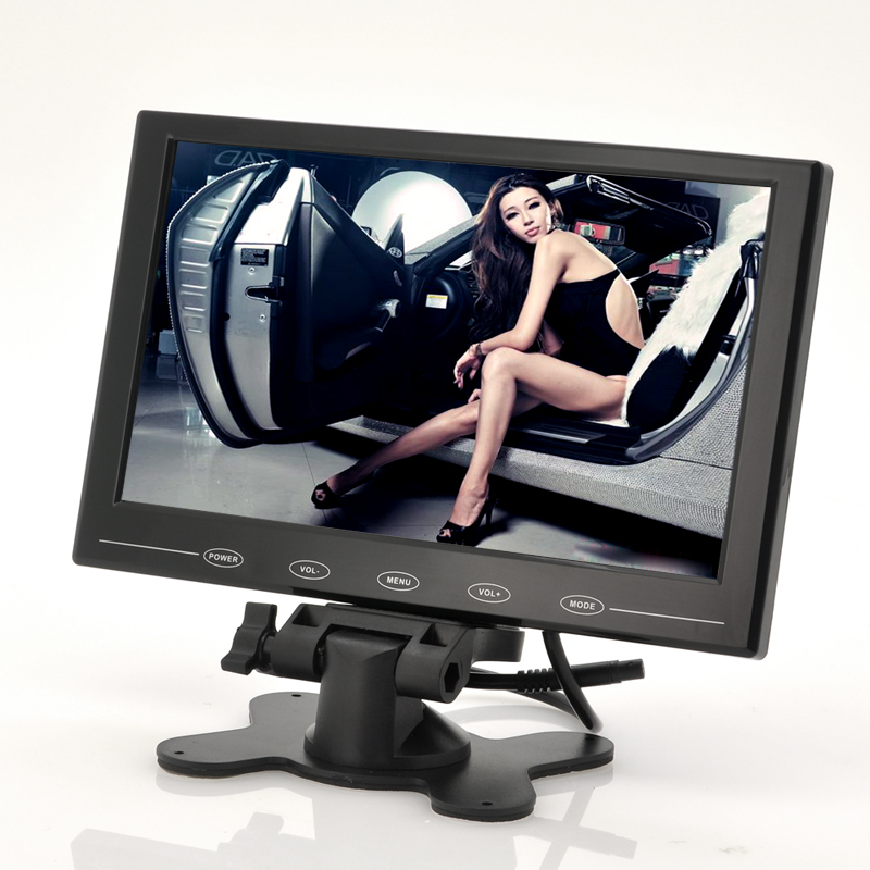 Wholesale Ultra-thin 9 Inch TFT LCD Monitor for In-Car Headrest/Stand - 800x480