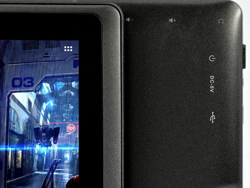 Osiris - 7 Inch Android 4.1 Tablet - Black (1GHz CPU, WiFi, Front Camera, 4GB)