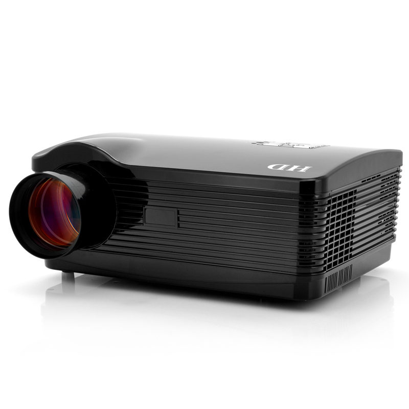Wholesale DroidBeam Dark - 1080P Android 4.1 Projector - Black (3000 Lumens, 2000:1, 1.5GHz Dual Core CPU, WiFi, 8GB Memory)