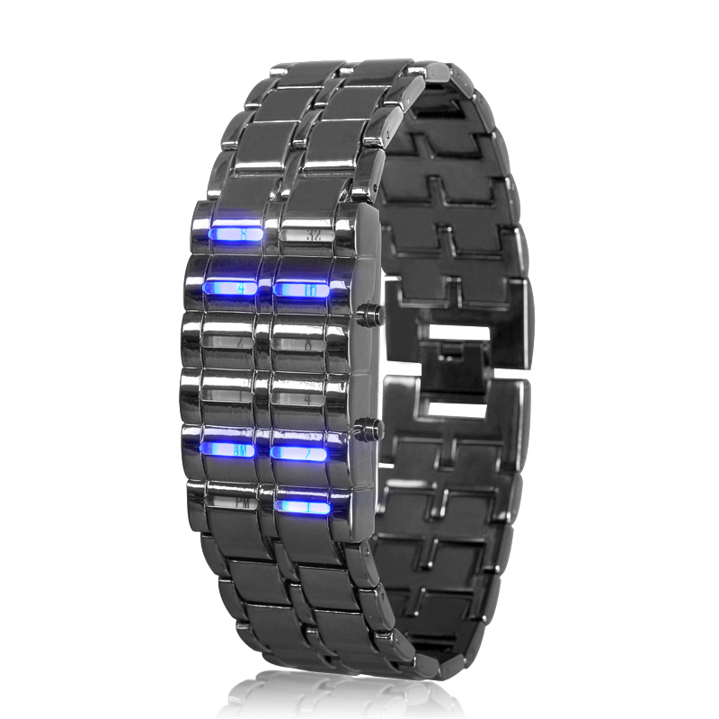 images/dropship-wholesale/Binary-LED-Watch-Blue-Samurai-Binary-Time-Display-12-Blue-LEDs-plusbuyer.jpg