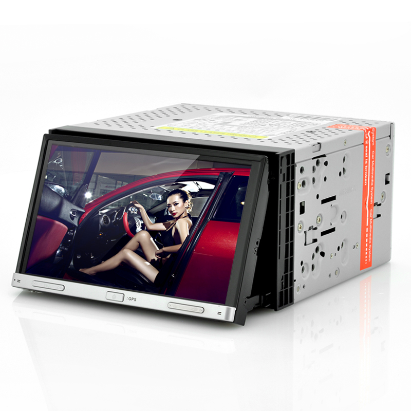 Double din touch screen dvd player