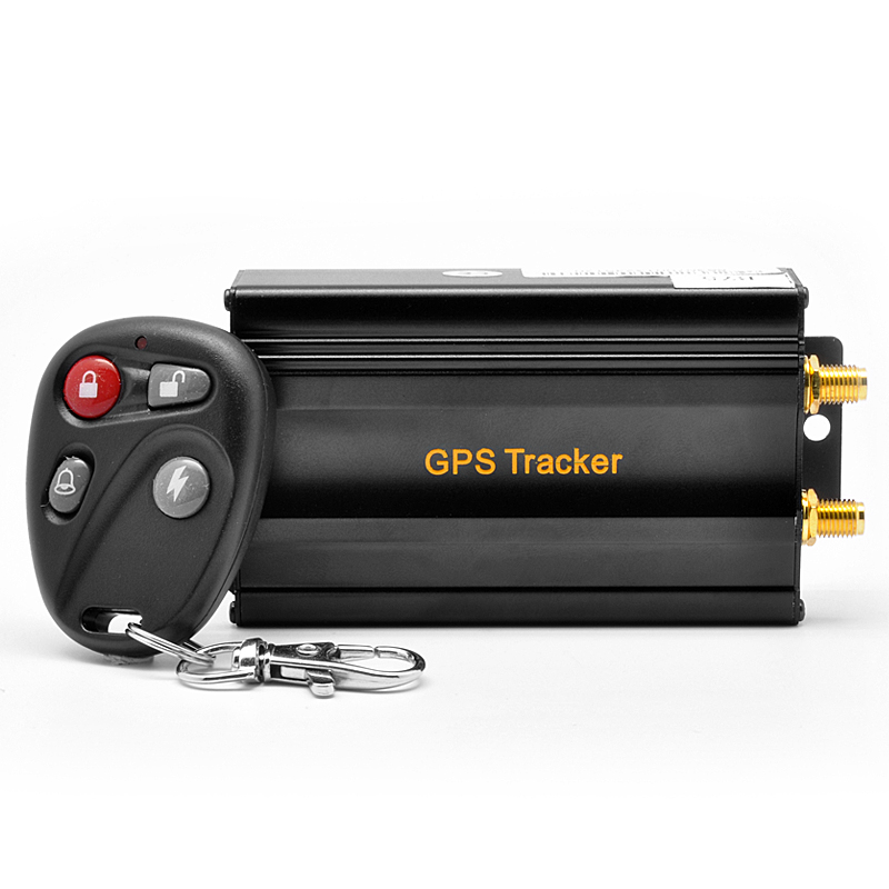 dual sim car gps tracker fleet management central door. Black Bedroom Furniture Sets. Home Design Ideas
