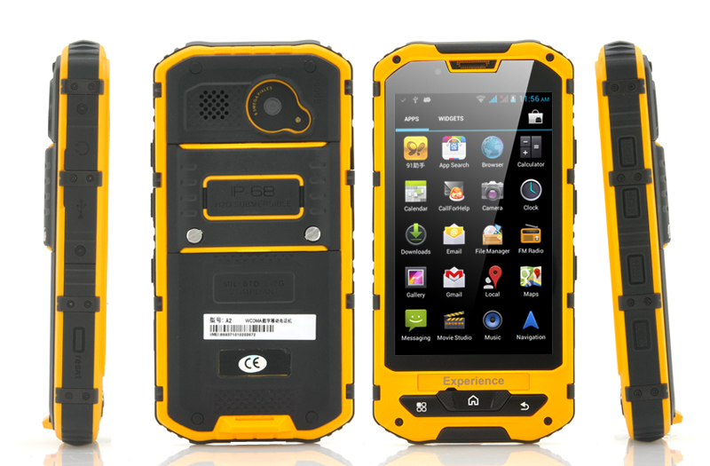 Rugged Android Home Decor