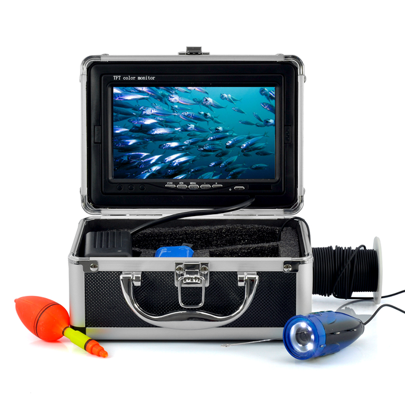 Wholesale Underwater Fishing Camera with 7 Inch Color Monitor (15m Cable, 600TVL, Night Vision)