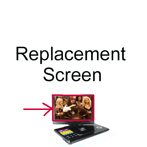 Wholesale Replacement Screen for TIB-E21 12 Inch Portable Multimedia DVD Player