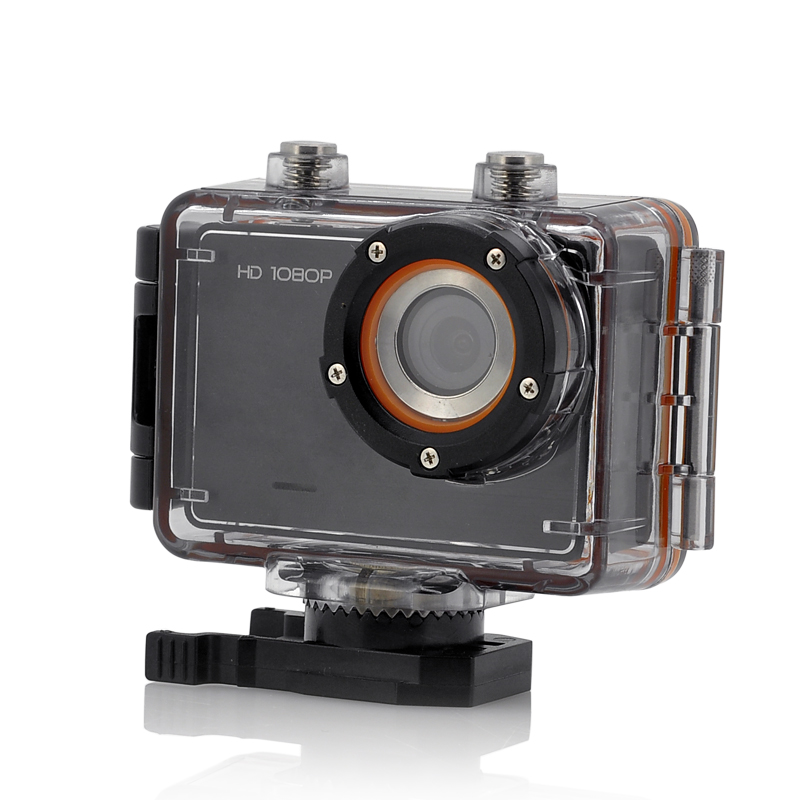 Wholesale Wave - 1080p Full HD Sports Action Camera (30M Waterproof, Touch