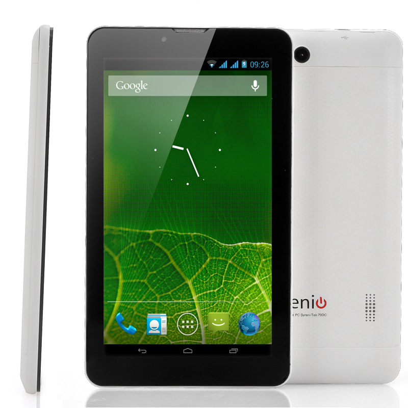 Wholesale 7 Inch Dual SIM Android 3G Tablet (Dual Core 1GHz CPU, 1GB RAM, 16GB ROM)