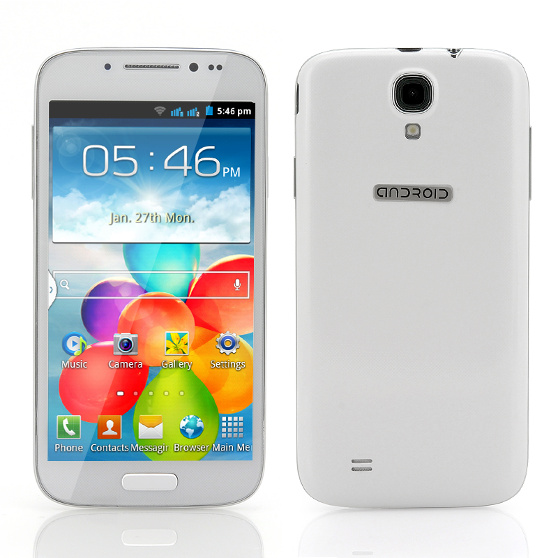 Wholesale Stallion - 4.7 Inch Android Mobile Phone (Spreadtrum SC6820 1GHz CPU, 2200mAh, White)
