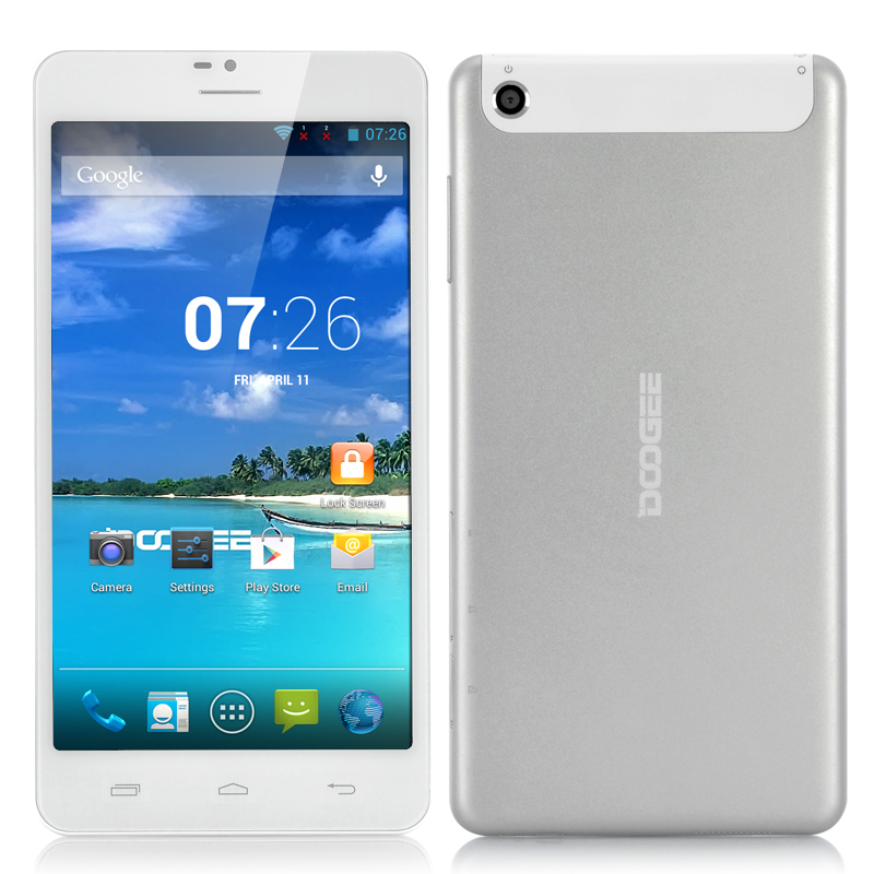 Wholesale DOOGEE DG685 6.85 Inch 3G Android Tablet Phone (Dual Core 1.3GHz CPU, 512MB RAM, 4GB ROM, Silver)