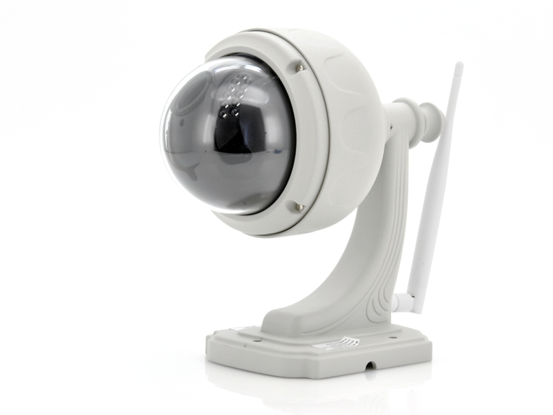 Wholesale 1/4 Inch CMOS Dome Wireless IP Camera (22 Infrared LEDs, 20m Night Vision, 1280x720)