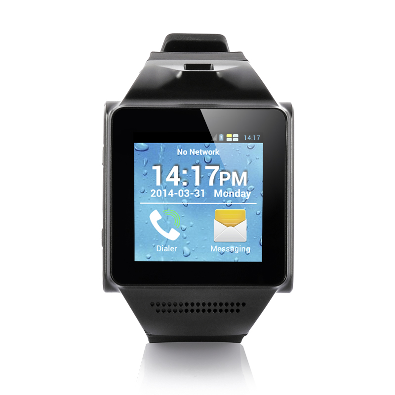 Wholesale 1.55 Inch Android Smart Phone Watch (Dual Core 1GHz CPU, 5MP Camera, OGS Touch Screen)