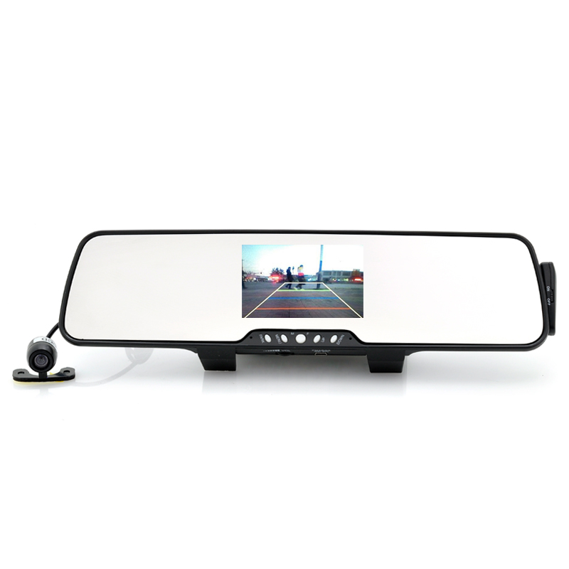Wholesale Bluetooth Car Rear-View Mirror with Wireless Parking Camera, FM Transmitter