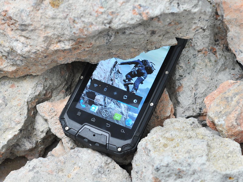 4 5 Inch Rugged Quad Core Android Phone With Walkie Talkie
