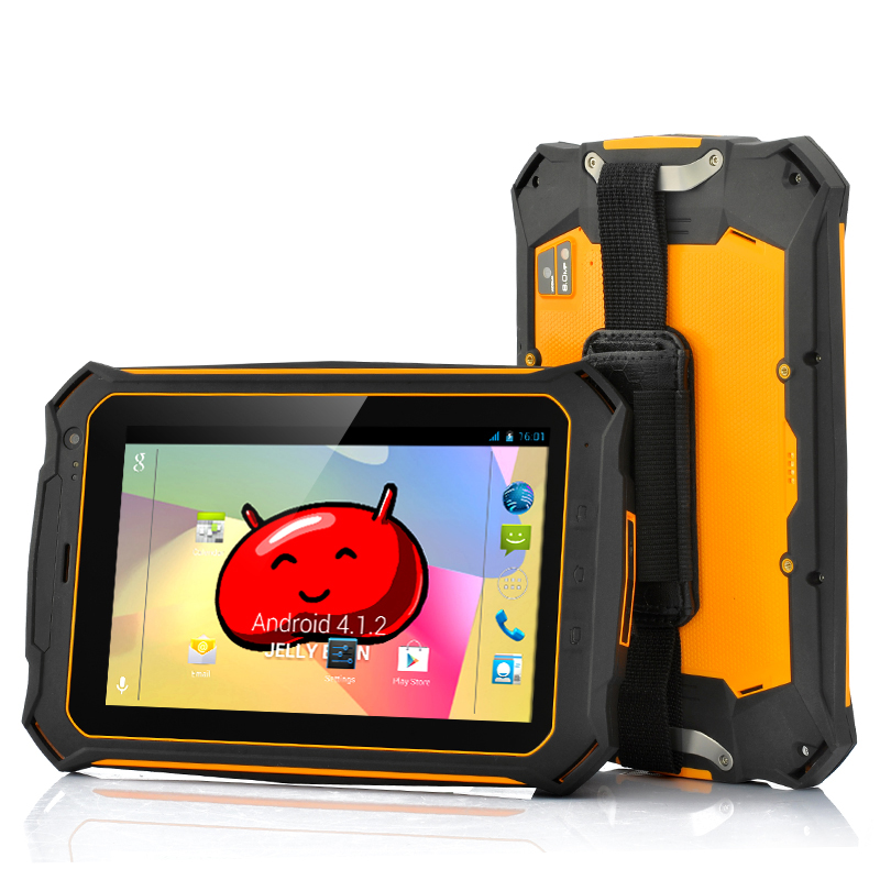 Wholesale 7 Inch Rugged Quad Core Android Tablet (Gorilla Glass 2 Screen, IP67 Waterproof, Shockproof, Dust Proof)