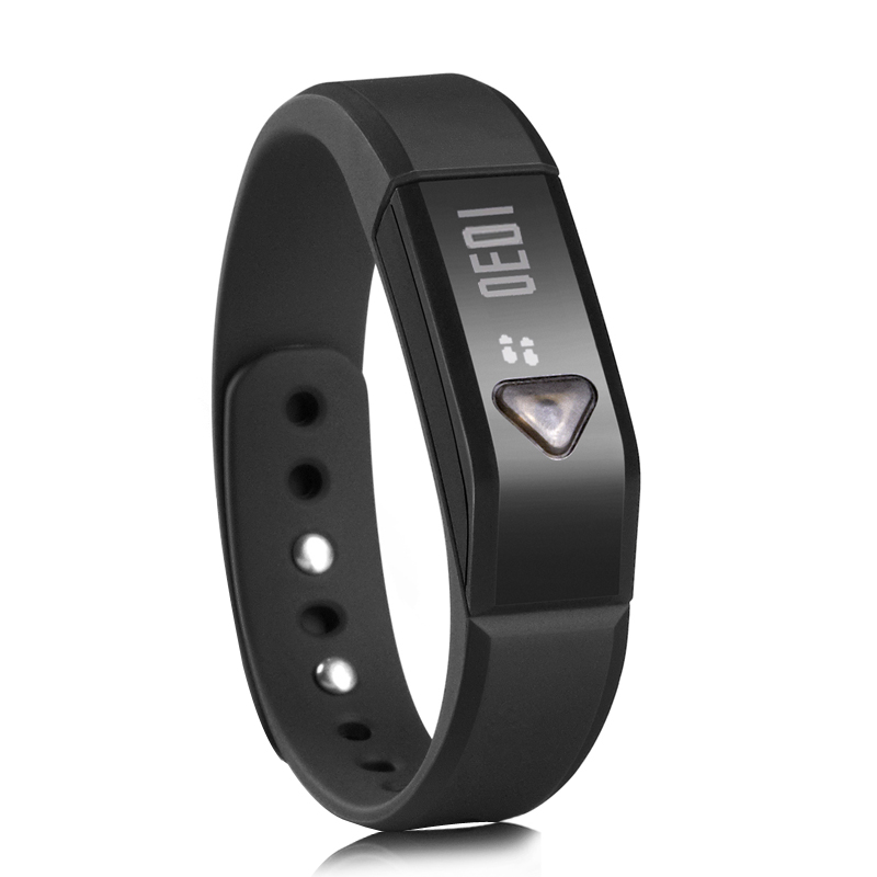 Wholesale Smart Wristband Bluetooth Bracelet with Sports + Sleep Tracking (3D Sensor, Waterproof)